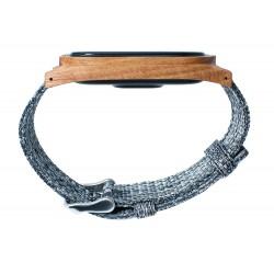 Zegarek drewniany-opaska Realforest Smartwood - Śliwa