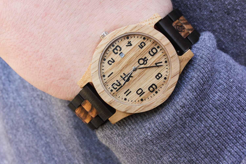 Zegarek drewniany Realforest Classic Dąb - drewniana bransoleta