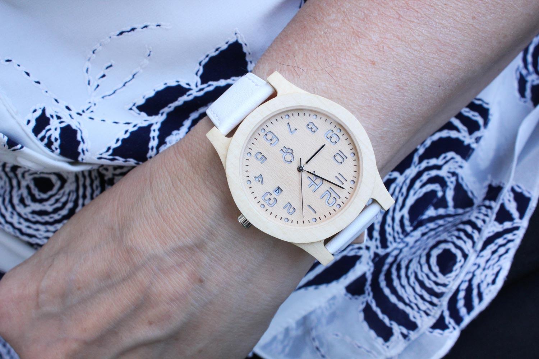 Zegarek drewniany Realforest Classic Klon