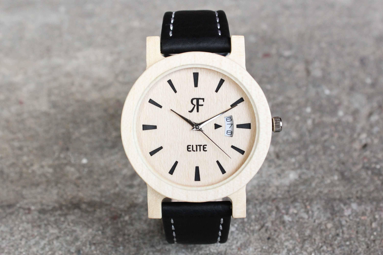 Drewniany zegarek – idealny dla alergika