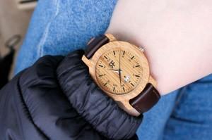 Zegarek drewniany Realforest Mini Dąb